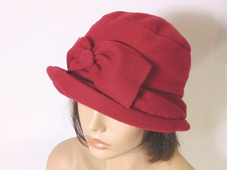 Gorro feltina color rojo