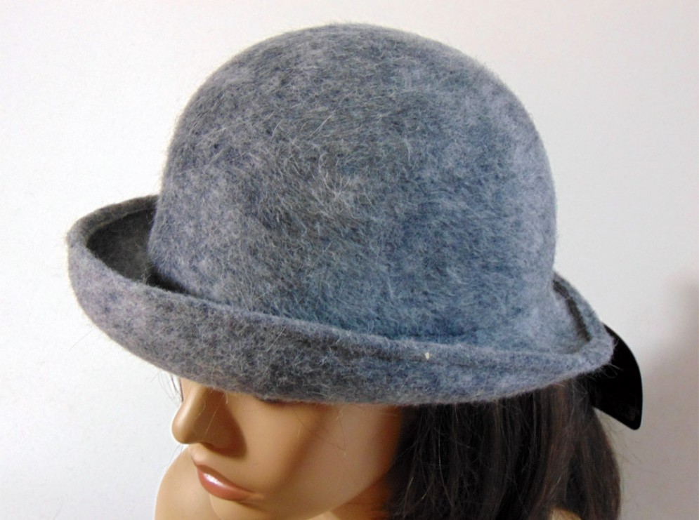 Sombrero mujer gris loden