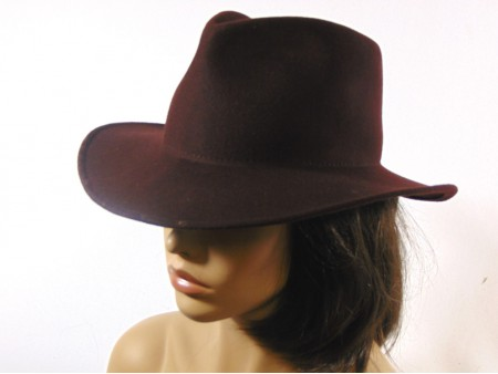 Sombrero Indiana Jones invierno