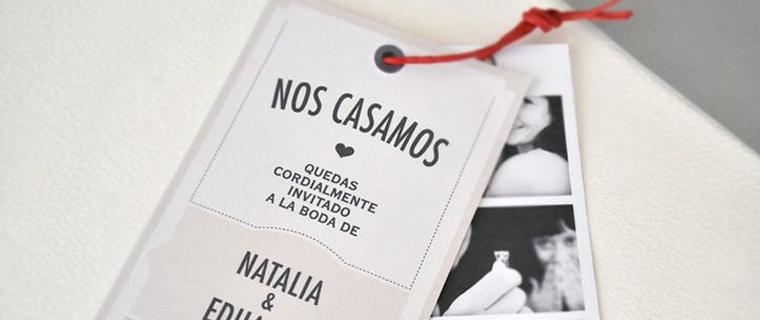 Invitaciones originales para una boda jamir sombreros - Cosas para la casa originales ...